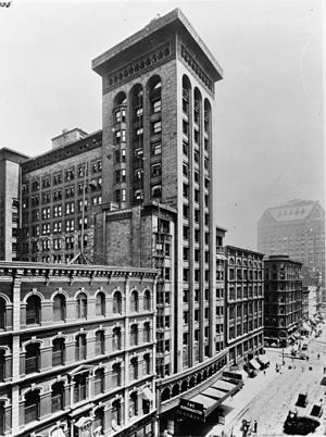 Garrick Theater (Chicago) - ca. 1900