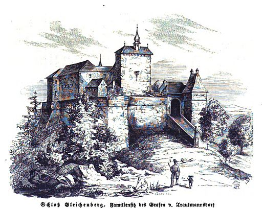 Schloss Gleichenberg 1844 (IZ 03-148)