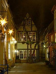 Schnoor-Viertel Bremen 639-40-42-fd