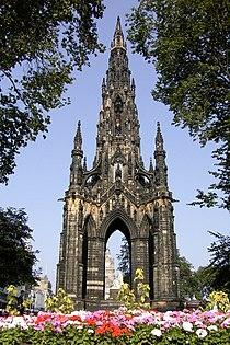 Schottland-Edinburgh-Sir Walter Scott Monument.JPG