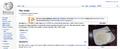 Screen Shot of Ras Malai article on English Wikipedia.png