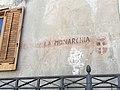 Scritte pro-monarchia in piazza del popolo 3.jpg