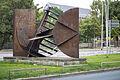 Sculpture Deus ex machina Bernhard Heiliger Leibnizufer Hanover Germany 01.jpg