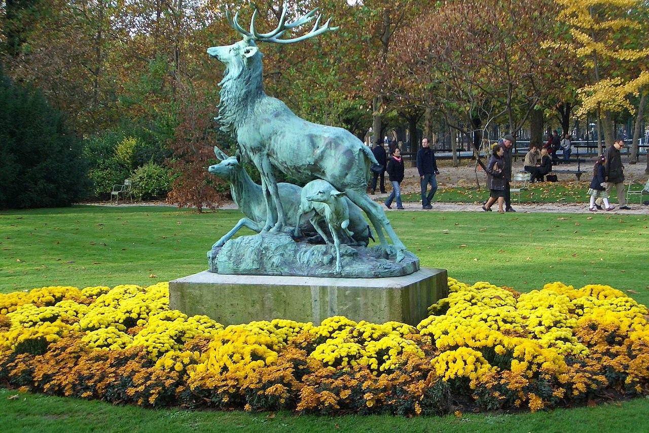 File sculpture in jardin du wikimedia commons - Statue jardin ...