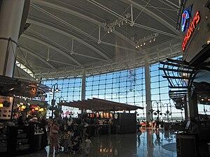 English: The main Terminal at Seattle-Tacoma (...