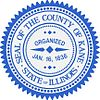 Official seal of Kane County