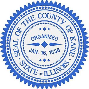 Kane County, Illinois - Image: Seal of Kane County