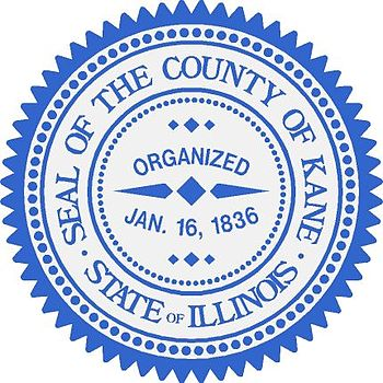 English: The Seal of Kane County