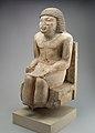 Seated Statue of the Nomarch Idu II of Dendera MET 98.4.9 EGDP019063.jpg