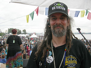 Vivian McPeak - Vivian McPeak at Seattle Hempfest in 2007