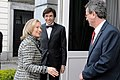 Secretary Clinton Is Greeted By Ambassador Gutman and Belgian Prime Minister Di Rupo (6944434716).jpg