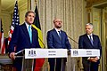Secretary Kerry, With Belgian Prime Minister Michel and Foreign Minister Reynders, Delivers a Statement to the Media in Brussels (25958764231).jpg