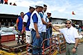 Secretary Kerry Thanks Recovery Workers Rebuilding the Tacloban City Airport (11431907876).jpg