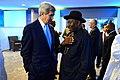 Secretary Kerry greets President Jonathan 2014.jpg