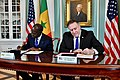 Secretary Pompeo and Senegalese Prime Minister Mahammed Boun Abdallah Dionne Attend the MCC Signing Ceremony (31321452057).jpg