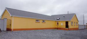 Seir Kieran GAA - The Club Rooms of the Seir Kieran GAA Club, Clareen, on completion in 2005
