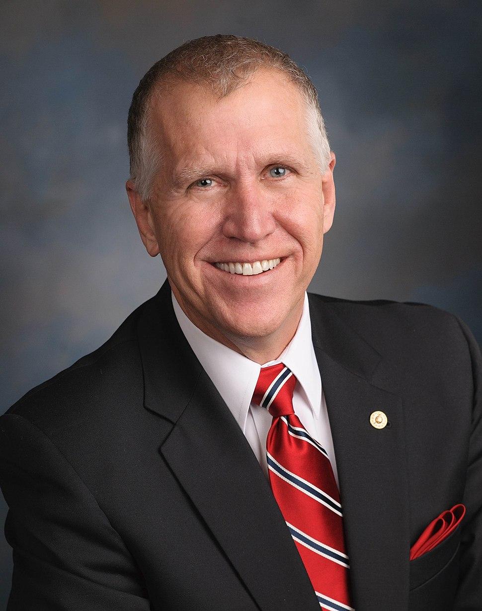 Senator Thom Tillis Official Portrait