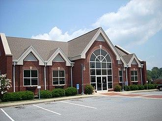 Seneca, South Carolina - Seneca, SC, city hall