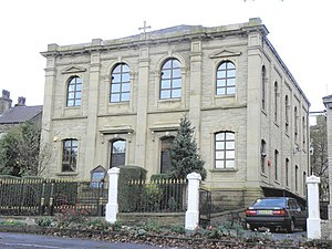 Serbian Orthodox Eparchy of Britain and Scandinavia - Image: Serbian Orthodox Church, Boothtown, Halifax geograph.org.uk 1575654