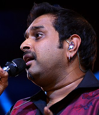 Shankar Mahadevan - Image: Shankar Mahadevan at Idea Rocks India 5, Bangalore, India (photo Jim Ankan Deka) (cropped)