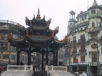 Shantou - The historic quarter of Shantou, which features both Western and Chinese architecture