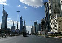 Sheikh Zayed Road on 10 January 2008.jpg