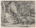 Shen Zhou - Twelve Views of Tiger Hill, Suzhou, The Sword Spring, Tiger Hill - 1964.371.6 - Cleveland Museum of Art.tiff