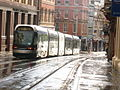 Shiny wet Tram - geograph.org.uk - 1066504.jpg