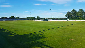 Sholing F.C. - Silverlake Arena, home of Sholing Football Club