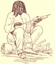Shoshonemanstraighteningarrow