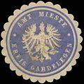 Siegelmarke Amt Mieste Kreis Gardelegen W0345960.jpg