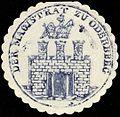 Siegelmarke Der Magistrat zu Oderberg W0229244.jpg