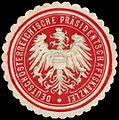 Siegelmarke Deutschösterreichische Präsidentschaftskanzlei W0261063.jpg