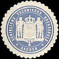 Siegelmarke Königliche Technische Hochschule - Aachen W0219453.jpg