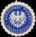 Siegelmarke Königliches Bauamt - Oranienburg W0245535.jpg