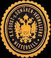 Siegelmarke K.K. Forst- und Domänen-Verwaltung Mittersill W0317012.jpg