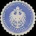 Siegelmarke K. Marine Kommando der I. Nordseevorpostenhalbflottille W0357570.jpg