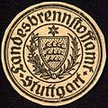 Siegelmarke Landesbrennstoffamt - Stuttgart W0227925.jpg