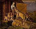 Siegwald Dahl - The Animals are given Salt - NG.M.00721 - National Museum of Art, Architecture and Design.jpg