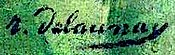 Signature of Robert Delaunay, 1914.jpg