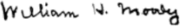 Signature of William Henry Moody.png