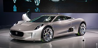 Jaguar C-X75 Motor vehicle