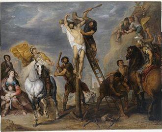 Simon de Vos -  Martyrdom of St Philip, 1645–1648