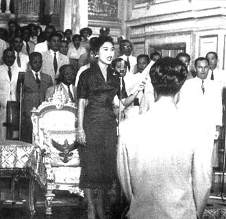 Regent of Thailand - Queen Sirikit took an oath of office amongst the National Assembly convened at the Ananta Samakhom Throne Hall on 20 September 1956 when she was appointed regent by her husband, King Bhumibol Adulyadej.