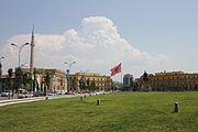 Skanderberg Square, Tirana