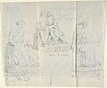 "Sketches of Seven Statues- ""Faith,"" ""Paolo and Francesca di RImini,"" ""Charity,"" ""Roman Matron,"" ""Venus Feleste,"" ""Danyatrice,"" and ""Sleeping Amor"" MET DP804256.jpg"