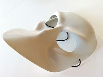 Sleep No More (2011 play) - One of the audience masks used in the production.