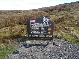 Slieveanorra Forest - Memorial to the American servicemen