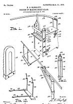 old diagram of a machine from a patent