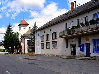 Bzenov Village in Slovakia